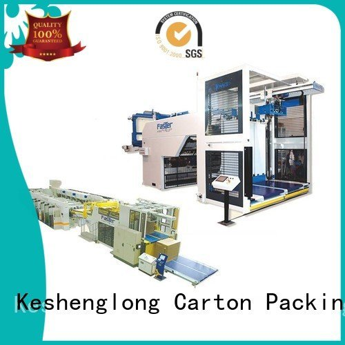 Hot cardboard box printing machine three color KeShengLong PFA KeShengLong Brand