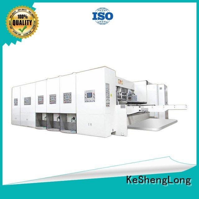 flexo printing and die cutting machine machine automatic automatic printing slotting die cutting machine