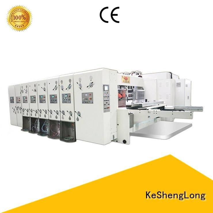 jumbo automatic printing KeShengLong automatic printing slotting die cutting machine