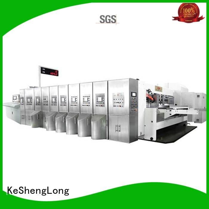 slotting HD flexo printer slotter inline cutting KeShengLong