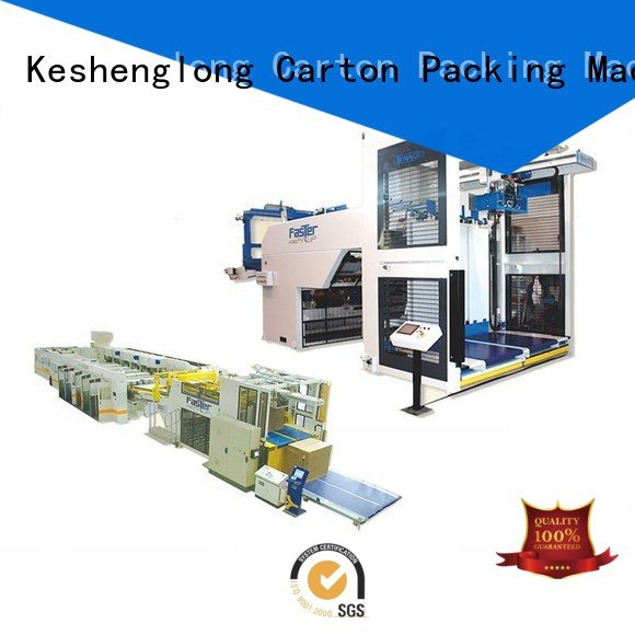 Top cardboard box printing machine four color three color OEM cardboard box printing machine KeShengLong PFA