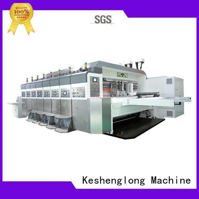slotting gluing KeShengLong China hd flexo