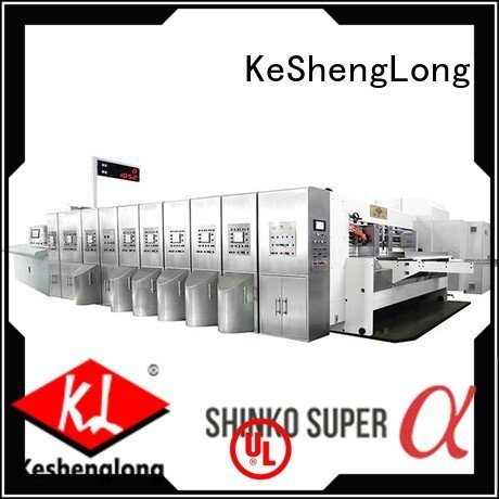 flat structure HD flexo printer slotter fixed KeShengLong