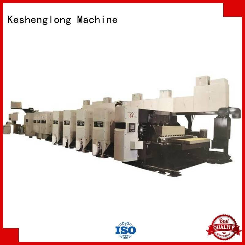 flexo printer slotter corrugated flexo printer slotter machine diecutter KeShengLong