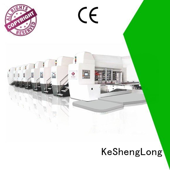 Quality China hd flexo KeShengLong Brand gluing HD flexo printer slotter