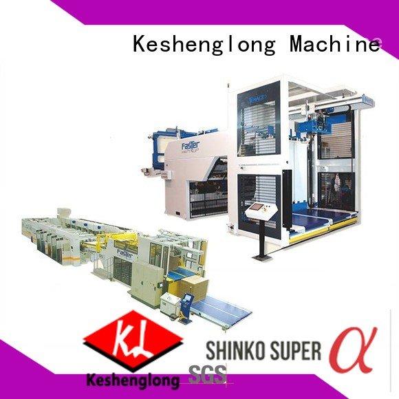 PFA cardboard box printing machine four color six color KeShengLong