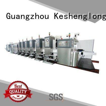 KeShengLong Brand folding structure diecutting HD flexo printer slotter