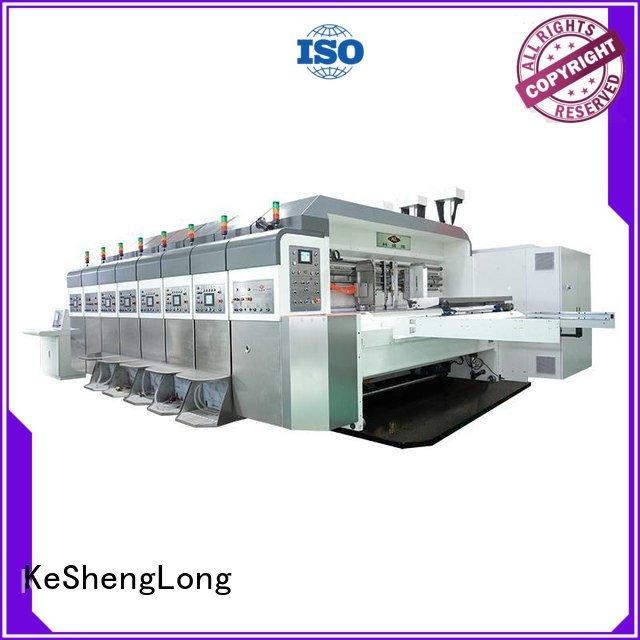 China hd flexo control goutering OEM HD flexo printer slotter KeShengLong