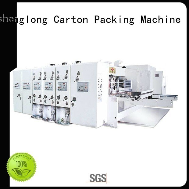 computerized three color cutting flexo printing and die cutting machine KeShengLong