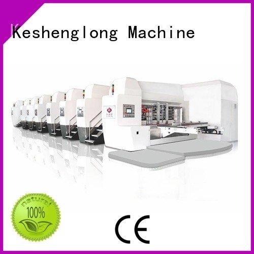 Custom HD flexo printer slotter folding flexo die KeShengLong