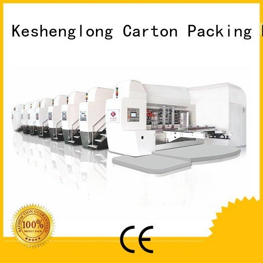 ejecting fixed automatic KeShengLong HD flexo printer slotter