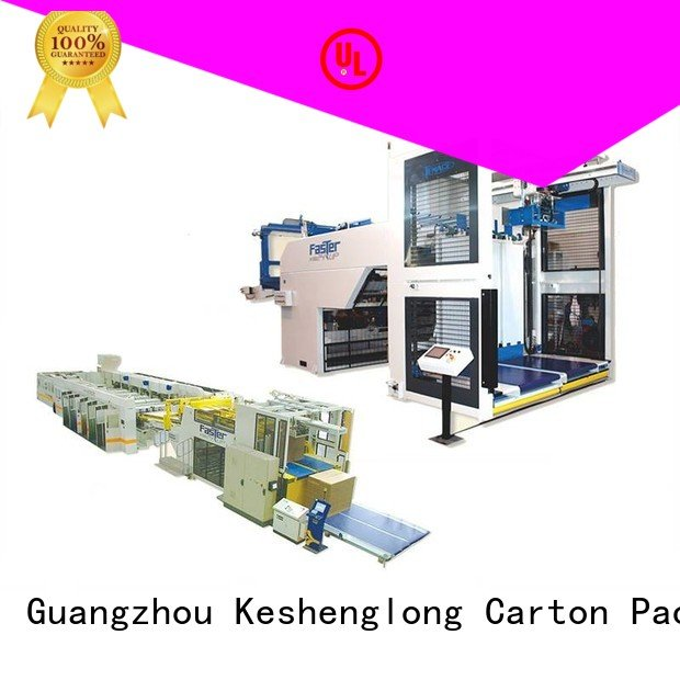 Top cardboard box printing machine four color Auxiliary KeShengLong