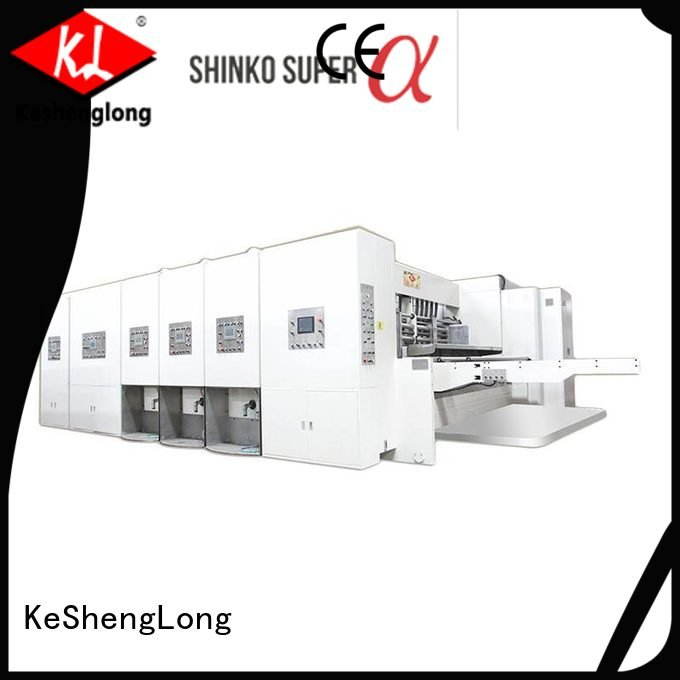 six color automatic printing slotting die cutting machine three color machine KeShengLong