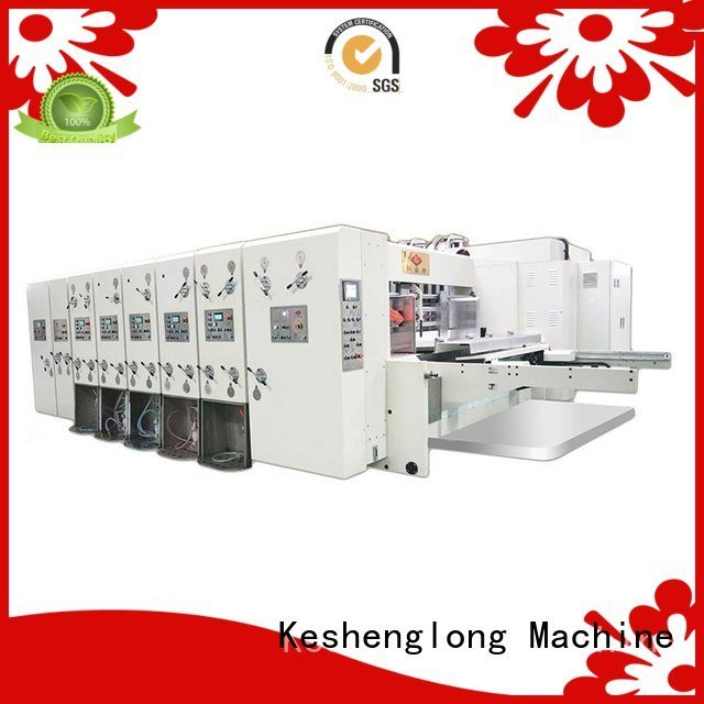 OEM automatic printing slotting die cutting machine cutting computerized flexo printing and die cutting machine