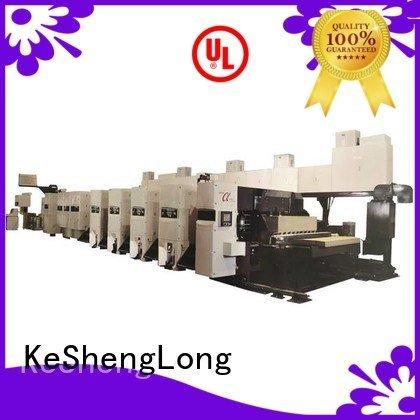 Hot flexo printer slotter 6 color In-line slotter KeShengLong Brand