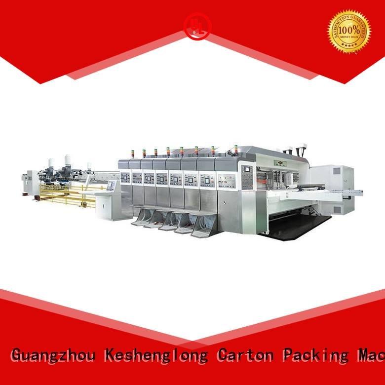 China hd flexo fixed folding HD flexo printer slotter KeShengLong Brand