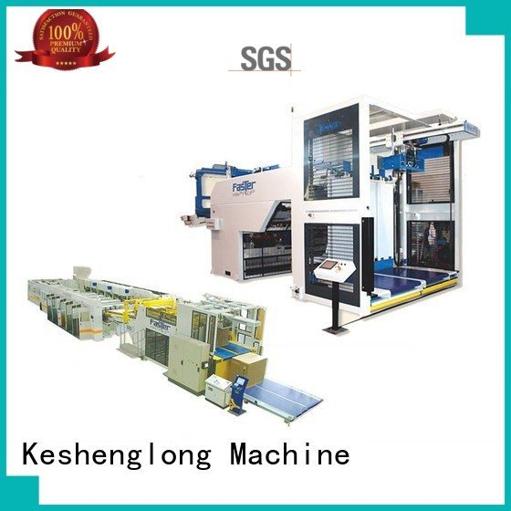 KeShengLong Auxiliary four color PFA cardboard box printing machine Top