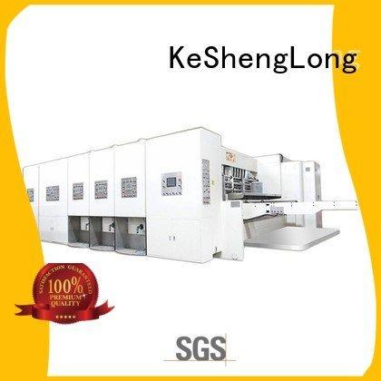 Custom six color automatic printing slotting die cutting machine machine flexo printing and die cutting machine