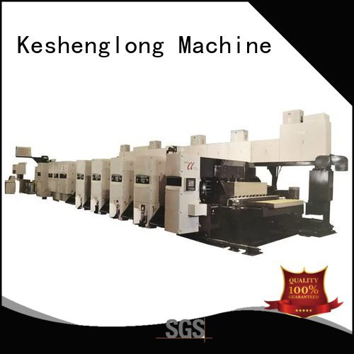 curled flexo flexo printer slotter machine inline KeShengLong
