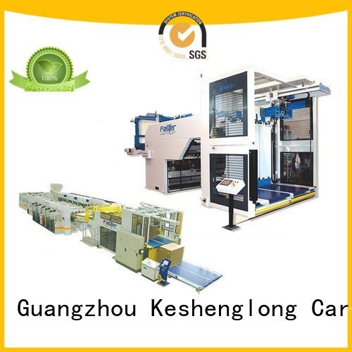KeShengLong Brand four color Auxiliary cardboard box printing machine three color PFA