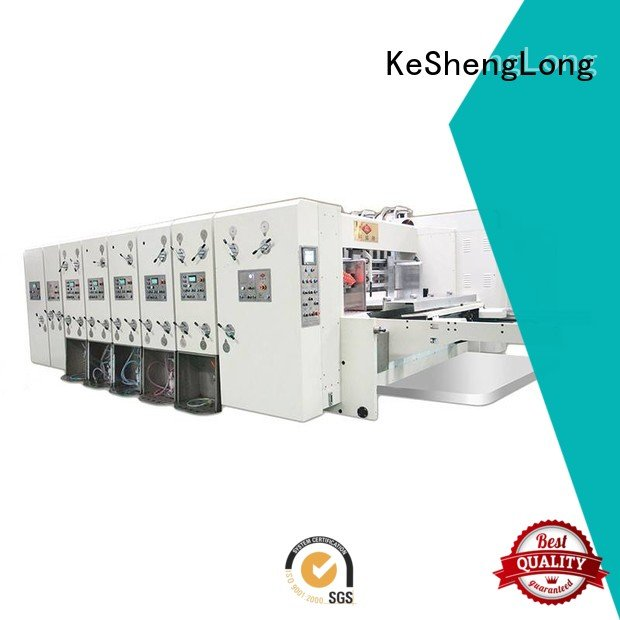 KeShengLong Brand computerized flexo four color flexo printing and die cutting machine