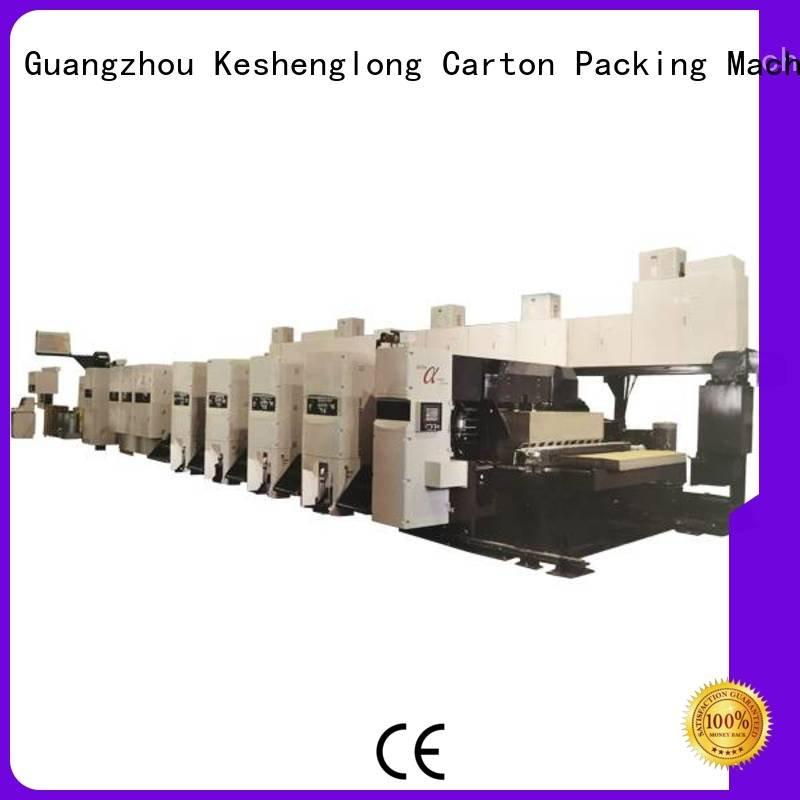 OEM flexo printer slotter shinko printer 4 color flexo printer slotter machine