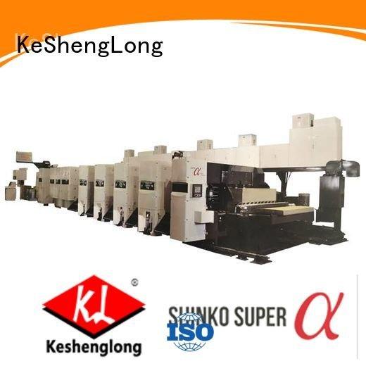 flexo printer slotter 3 color China slotter curled KeShengLong