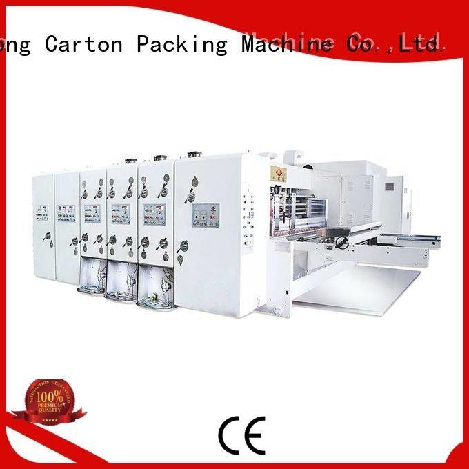 flexo printing and die cutting machine die three color slotting KeShengLong
