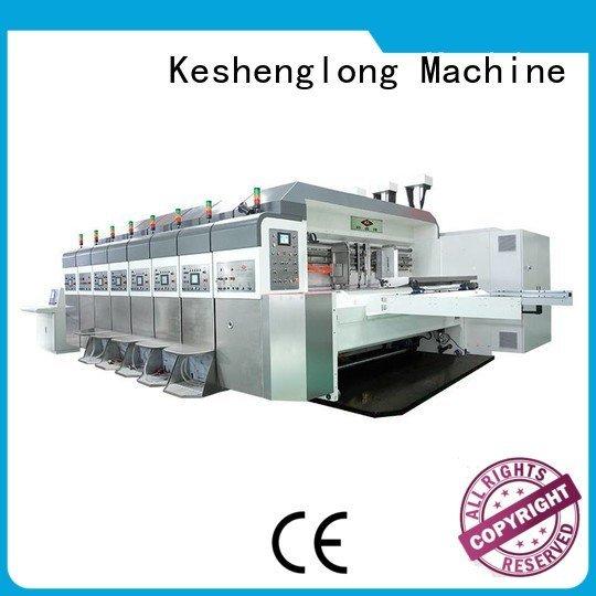 KeShengLong automatic inline diecutting China hd flexo cutting