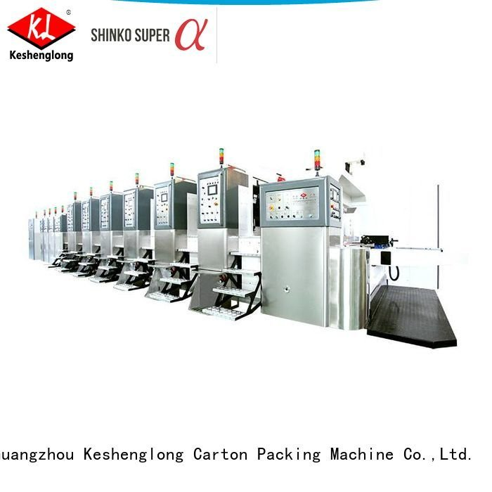 Hot China hd flexo HD flexo printer slotter KeShengLong