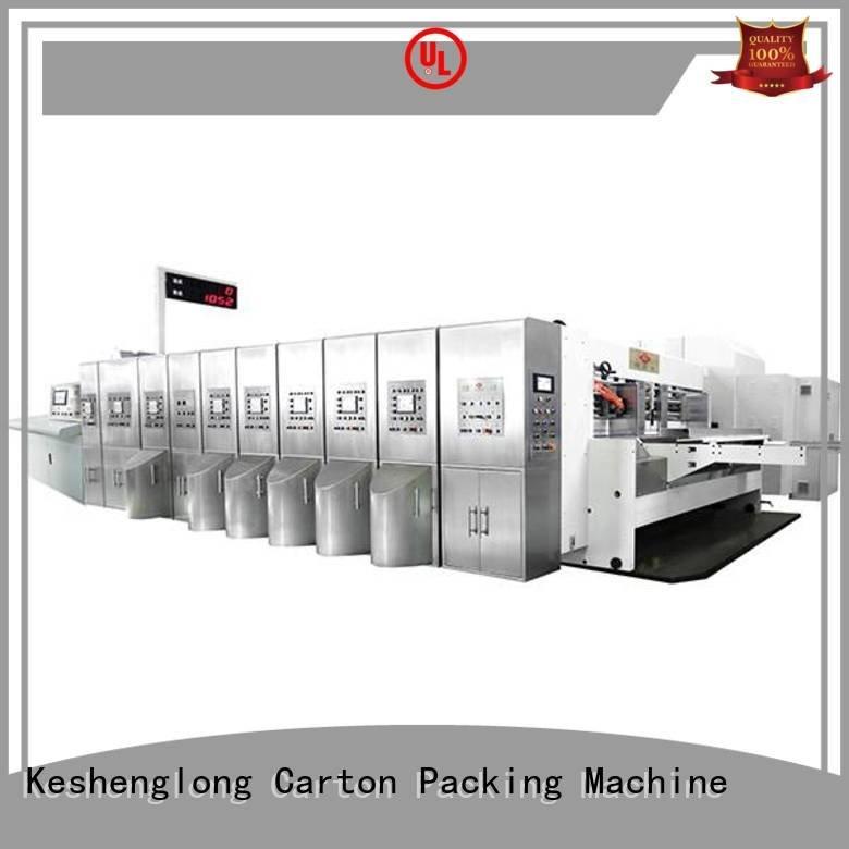 KeShengLong goutering K8-Type HD flexo printer slotter diecutting flexo