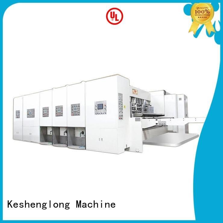 flexo printing and die cutting machine six color jumbo machine die