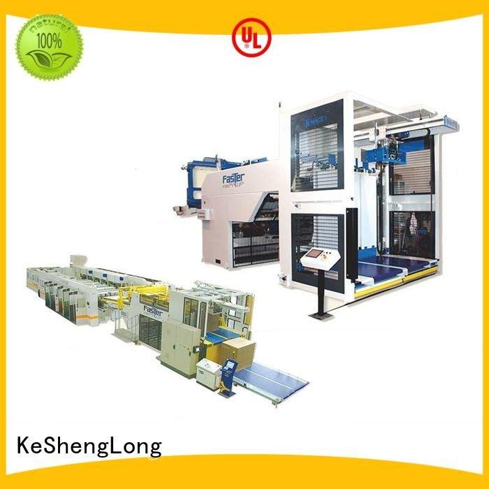 cardboard box printing machine four color Top OEM cardboard box printing machine KeShengLong