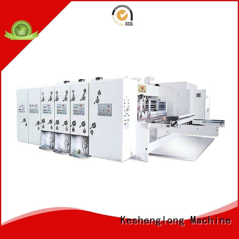 flexo printing and die cutting machine four color flexo automatic three color