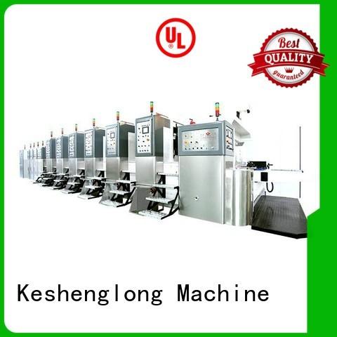 K8-Type die fixed KeShengLong Brand HD flexo printer slotter supplier