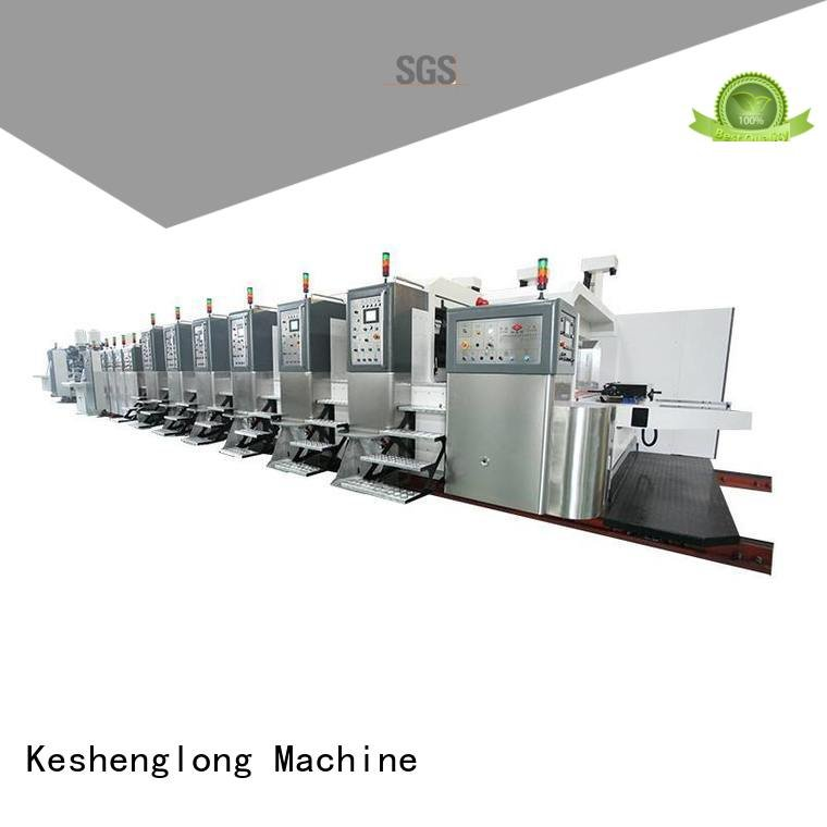 K9-Type automatic top KeShengLong HD flexo printer slotter