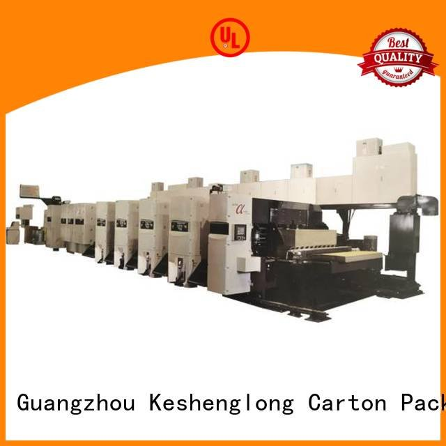 Custom flexo printer slotter machine inline printer Carton KeShengLong