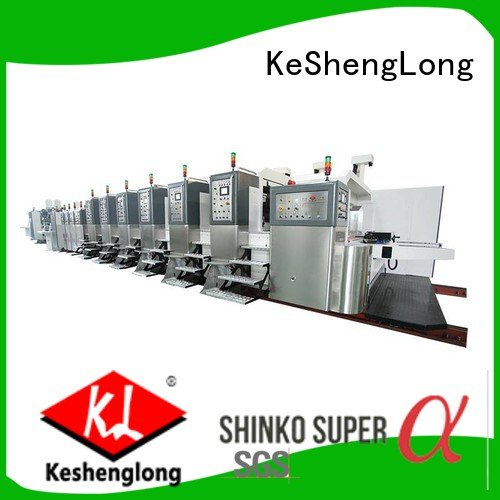 China hd flexo automatic die HD flexo printer slotter KeShengLong Brand