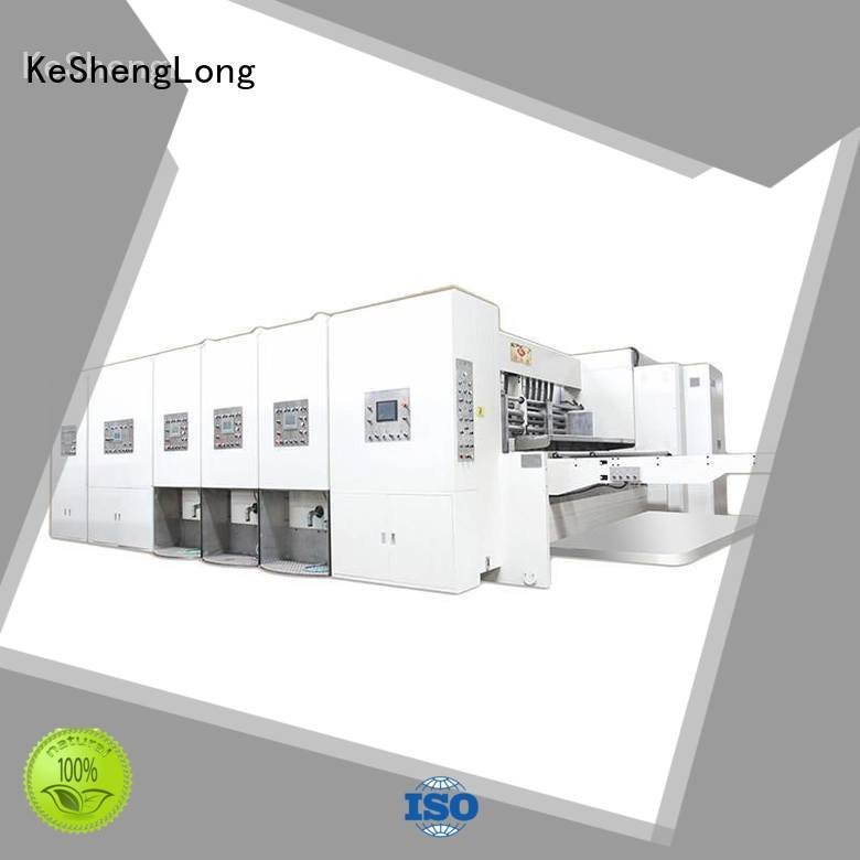 flexo printing and die cutting machine cutting slotting jumbo printing KeShengLong