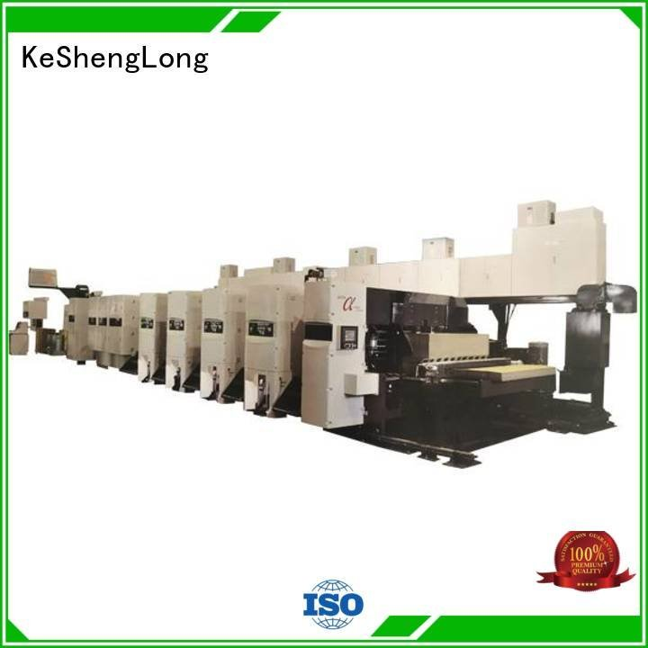 KeShengLong slotter flexo printer slotter machine China corrugated