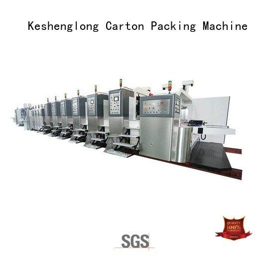 KeShengLong Brand fixed k6 servo HD flexo printer slotter (top