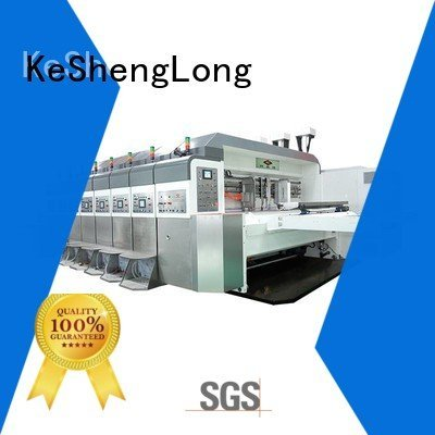 Wholesale inline diecutting HD flexo printer slotter KeShengLong Brand
