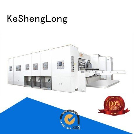 flexo printing and die cutting machine automatic jumbo automatic printing slotting die cutting machine KeShengLong Brand
