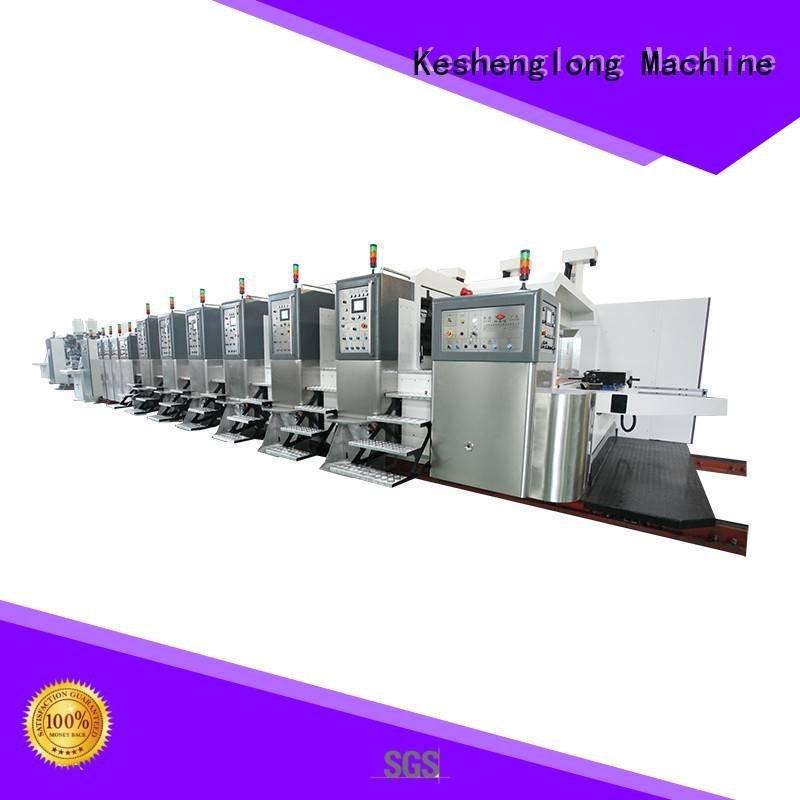 China hd flexo computerized HD flexo printer slotter KeShengLong Brand