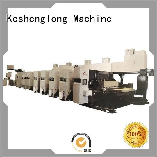 OEM flexo printer slotter curled cardboard printer flexo printer slotter machine