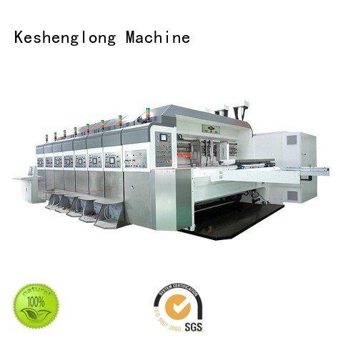 k7 computerized (top KeShengLong HD flexo printer slotter