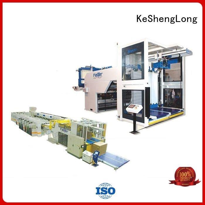 KeShengLong cardboard box printing machine six color PFA three color