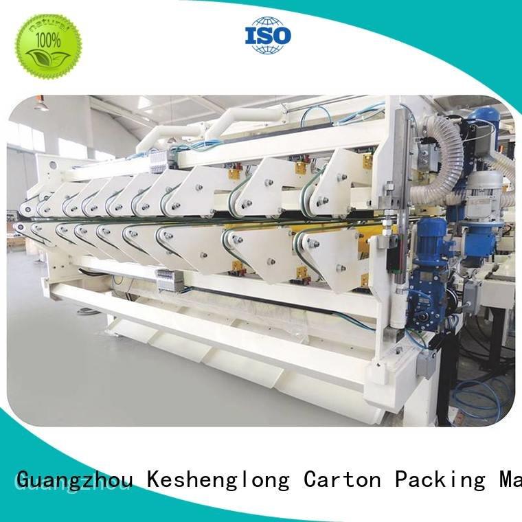 cardboard box printing machine three color Top OEM cardboard box printing machine KeShengLong
