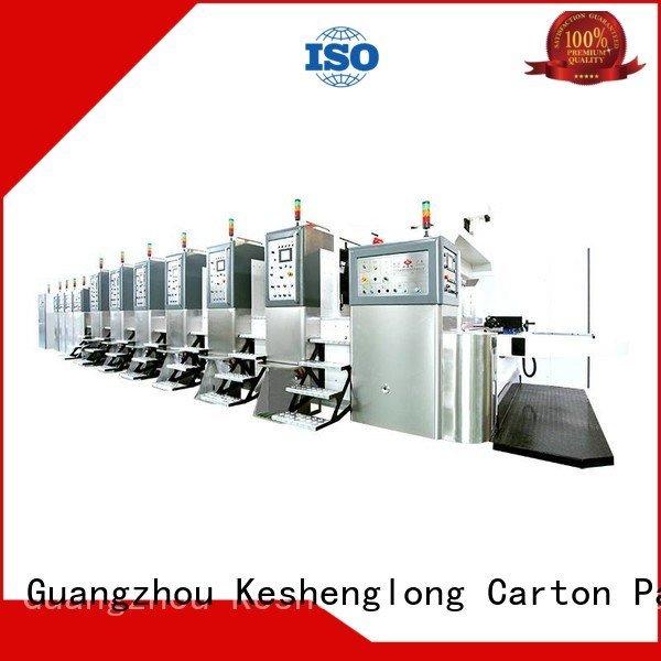 China hd flexo top ejecting HD flexo printer slotter