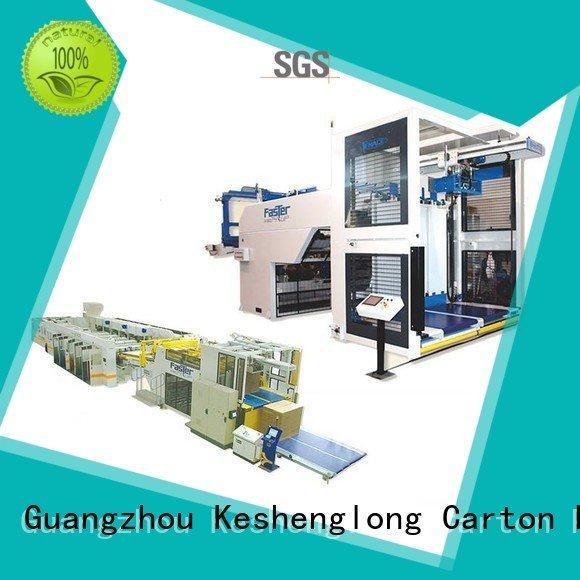 KeShengLong Brand slitter counter prefeeder cardboard box printing machine